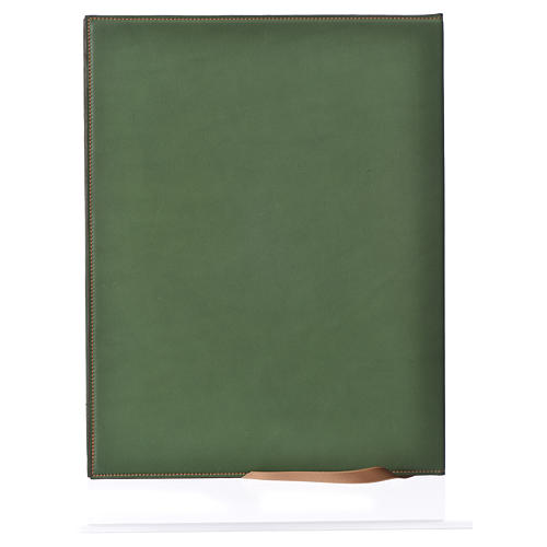 Funda para ritos A4 Cordero impreso verde Belén 2