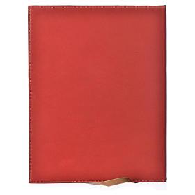 Custodia portariti A4 Agnello impresso rossa Bethléem s2