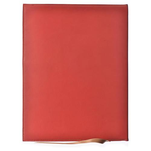 Couverture rites A4 Agneau or rouge Bethléem 2