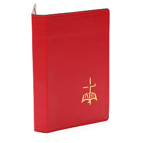 Red Leather Slip Cover Case for Sacred Rites A5 size s4