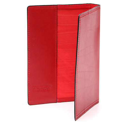 Red Leather Slip Cover Case for Sacred Rites A5 size 3