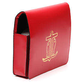Red Bag for Song Sheets in Leather, s4