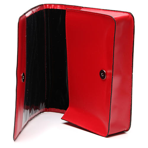 Red Bag for Song Sheets in Leather, 7