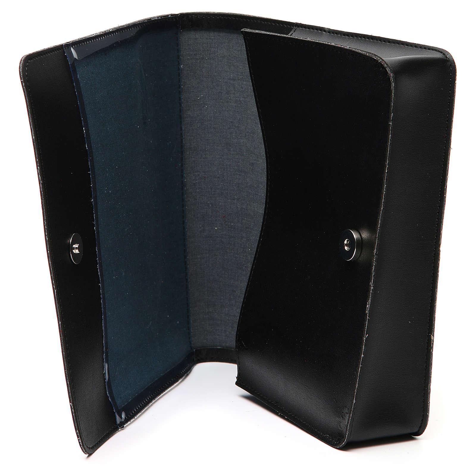 Farde pour partitions chants imitation cuir noir 4