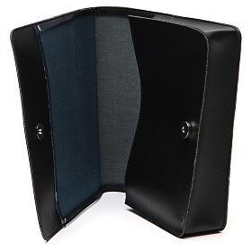 Farde pour partitions chants imitation cuir noir s5