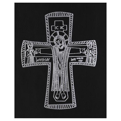 Custodia portariti formato A4 nera croce romana argentata Bethlèem 2