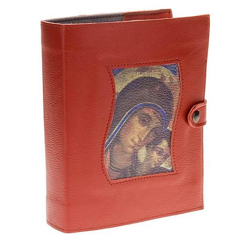 Custodia Neocatecumenale rossa Madonna Bambino 1