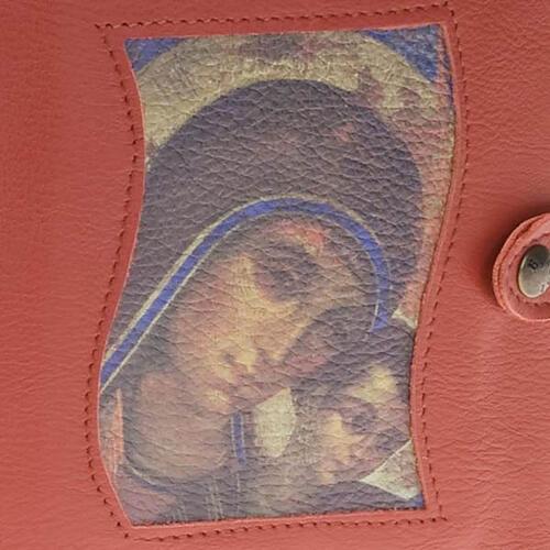 Capa Caminho Neocatecumenal vermelha Virgem com o Menino 2
