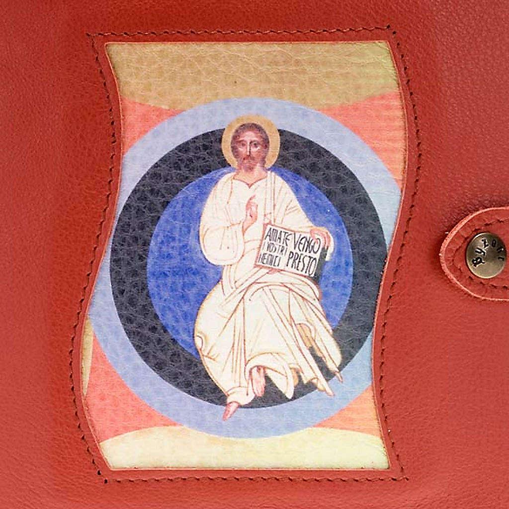 Custodia Neocatecumenale rossa Cristo nel cerchio 4