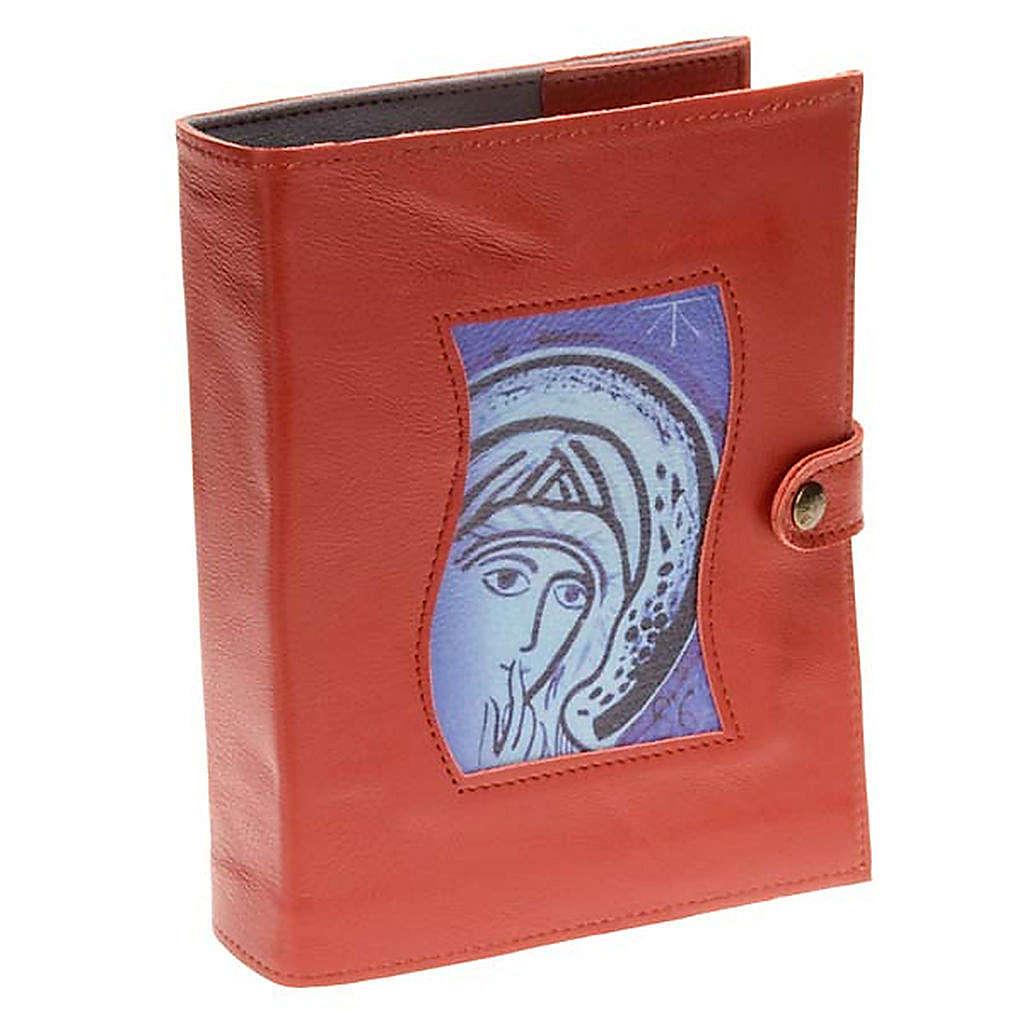 Couverture Néocatéchuménale rouge Vierge Marie 4