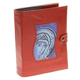 Couverture Néocatéchuménale rouge Vierge Marie s1