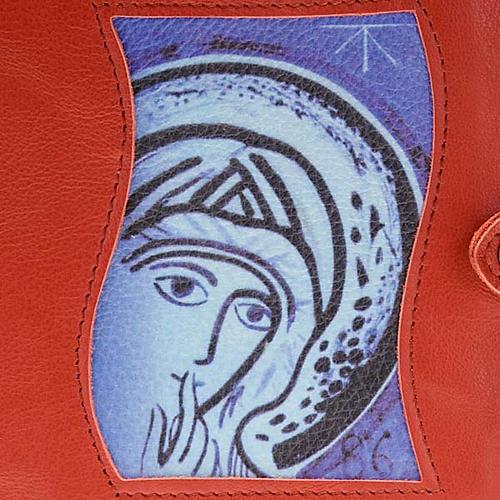 Couverture Néocatéchuménale rouge Vierge Marie 2