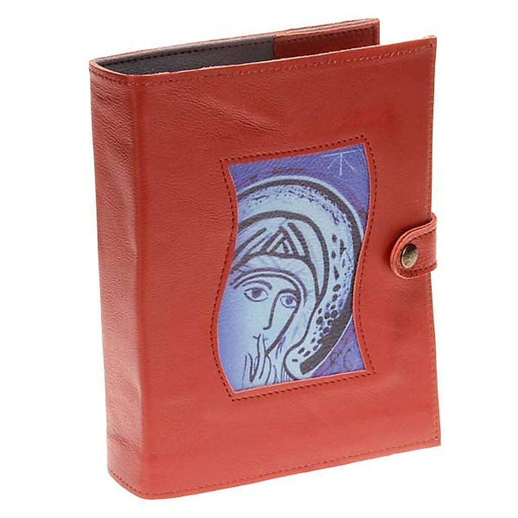 Capa Caminho Neocatecumenal vermelha Virgem Maria 4