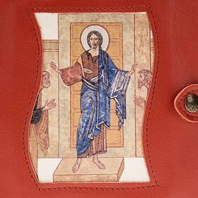 Capa Caminho Neocatecumenal vermelha Cristo Pantocrator s2