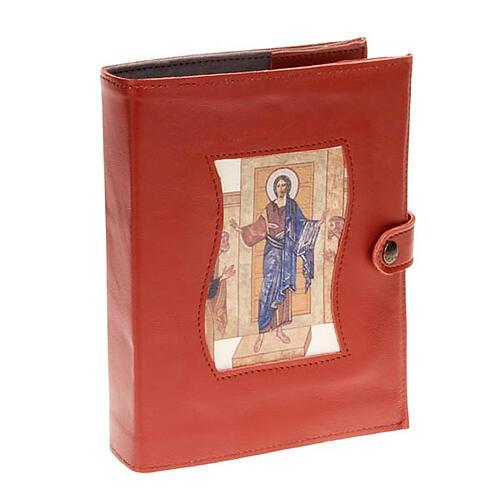 Capa Caminho Neocatecumenal vermelha Cristo Pantocrator 1
