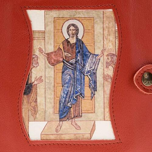 Capa Caminho Neocatecumenal vermelha Cristo Pantocrator 2