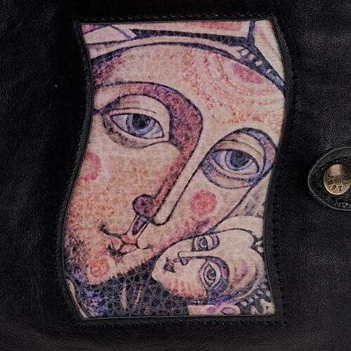 Capa Caminho Neocatecumenal preta Virgem com o Menino 2