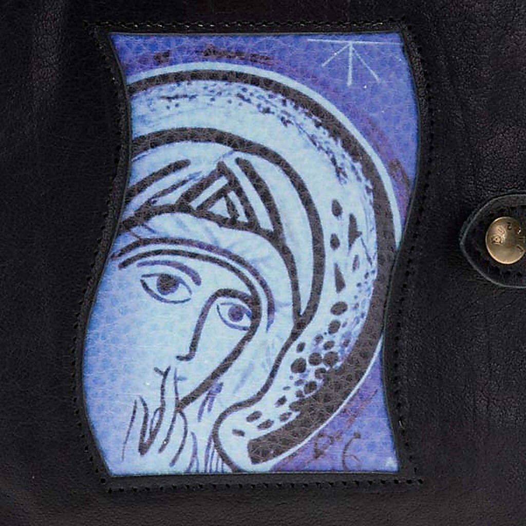 Capa Caminho Neocatecumenal preta Virgem Maria 4