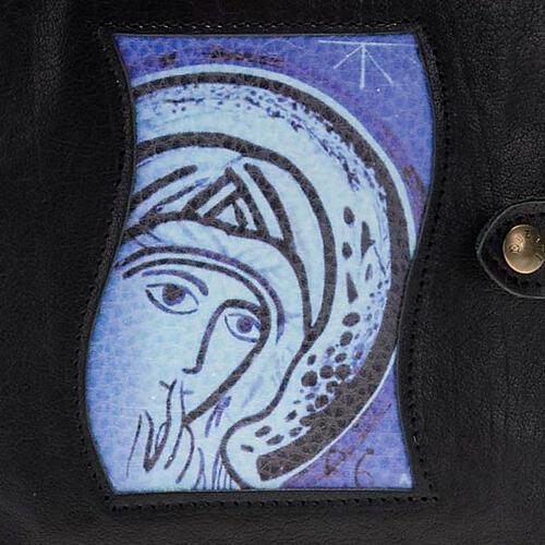 Capa Caminho Neocatecumenal preta Virgem Maria 2
