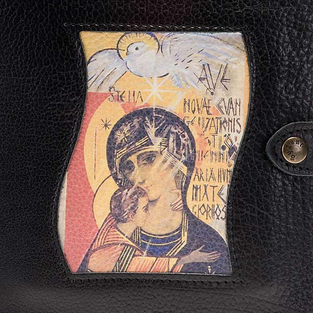 Custodia Neocatecumenale nera Madonna Spirito Santo 4