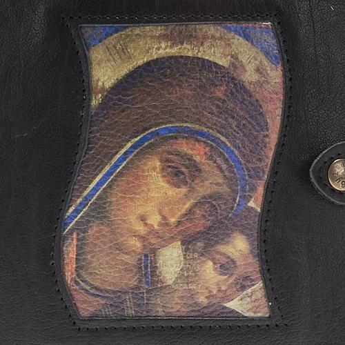 Couverture Néocatéchuménale Vierge et enfant noire 2