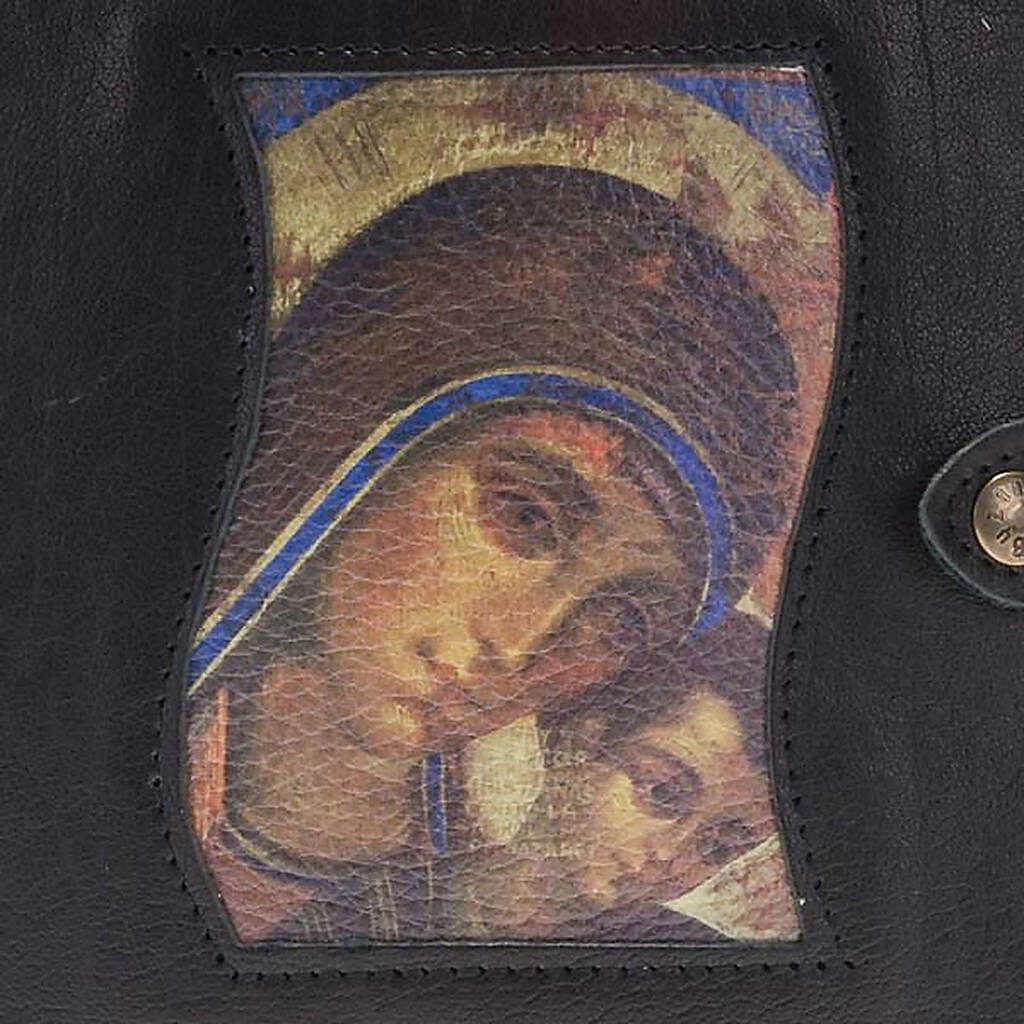 Capa livro Caminho Neocatecumenal preta Mãe de Deus 4