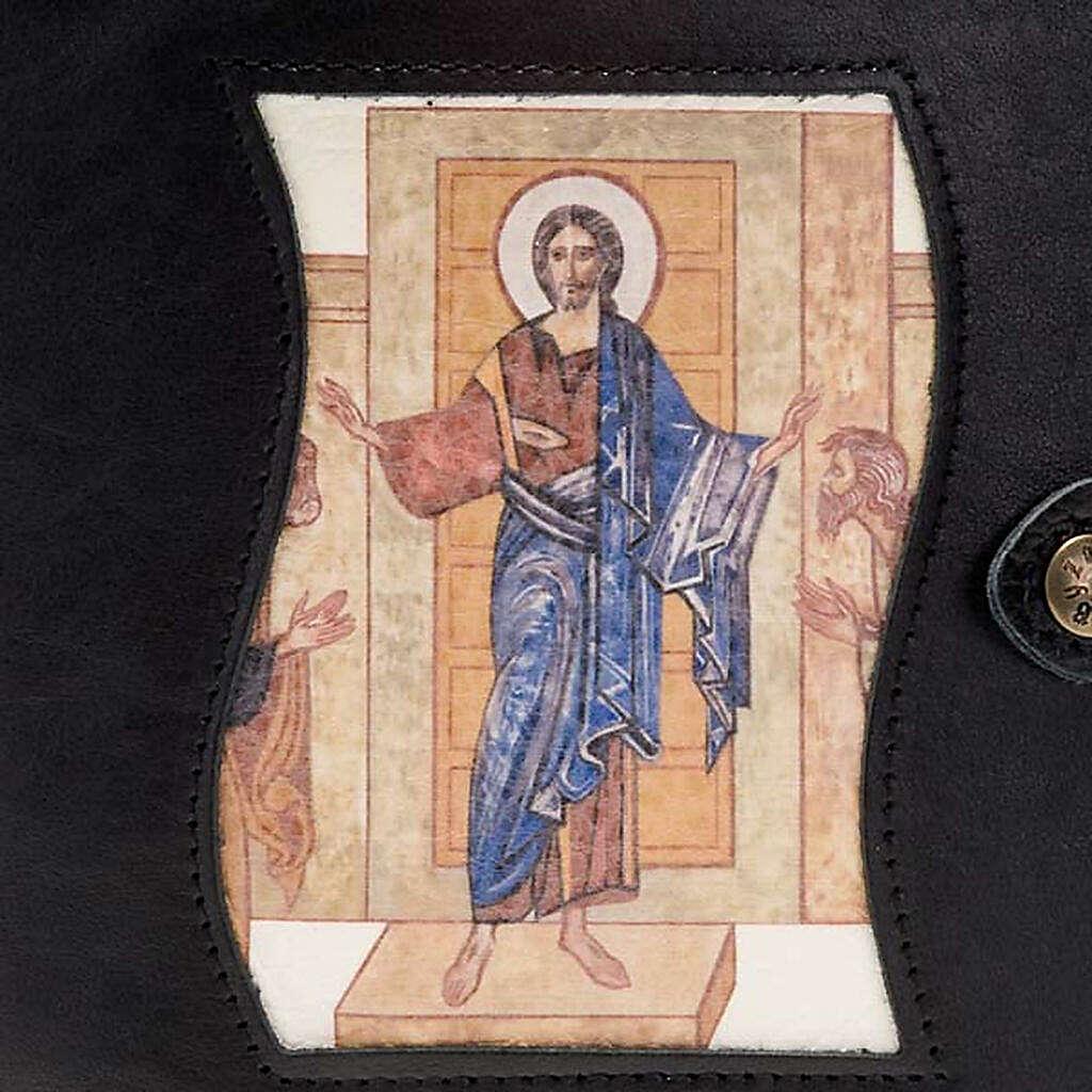 Capa livro Caminho Neocatecumenal preta Cristo Pantocrator 4