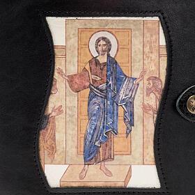 Capa livro Caminho Neocatecumenal preta Cristo Pantocrator s2