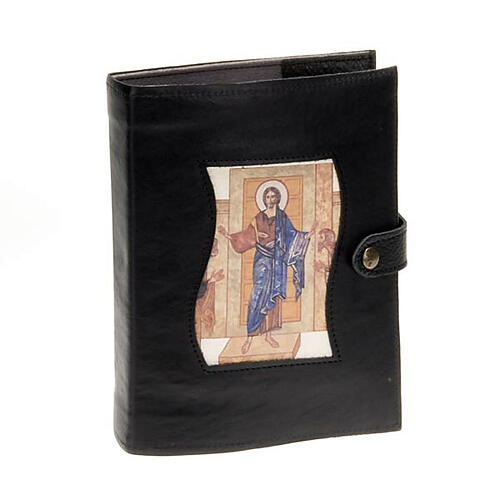 Capa livro Caminho Neocatecumenal preta Cristo Pantocrator 1