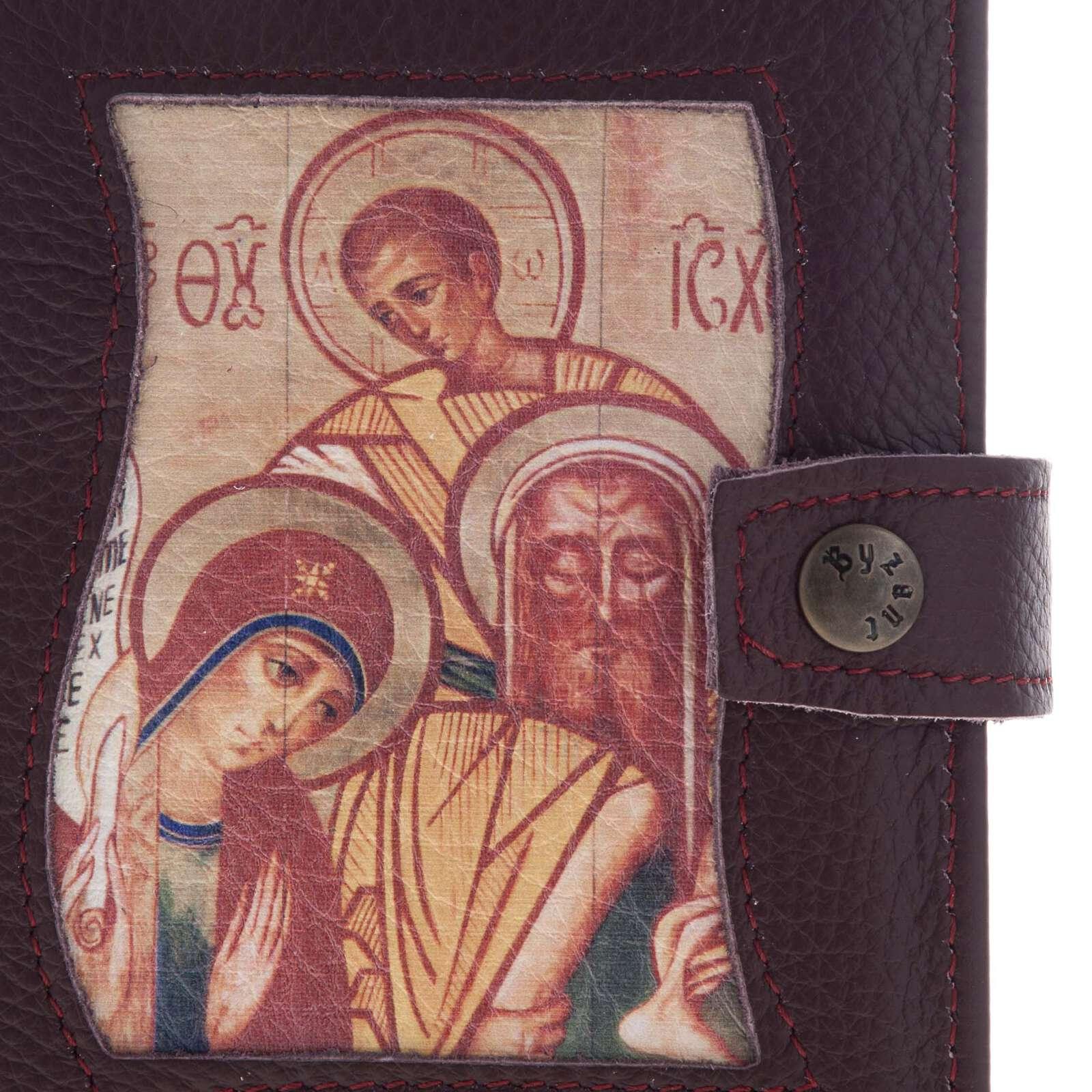 Capa Caminho Neocatecumenal Sagrada Família cor de vinho 4