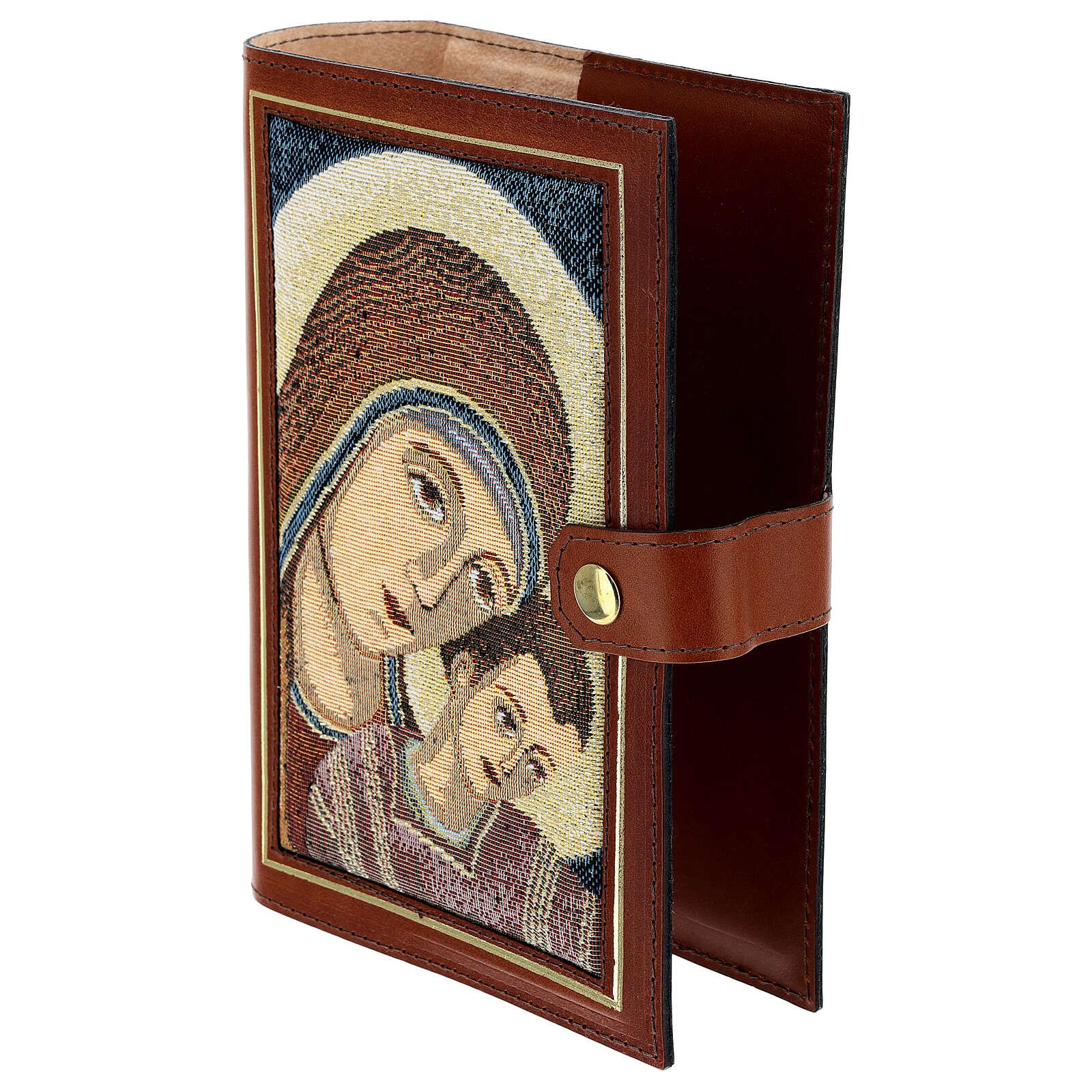 Couverture Néocatéchuménale cuir véritable Bible Jérusalem 4