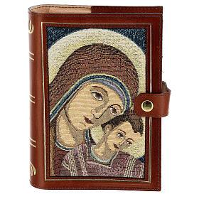 Couverture Néocatéchuménale cuir véritable Bible Jérusalem s1