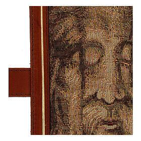 Couverture Néocatéchuménale cuir véritable Bible Jérusalem s5