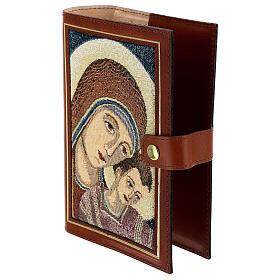Couverture Néocatéchuménale cuir véritable Bible Jérusalem s6