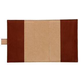 Couverture Néocatéchuménale cuir véritable Bible Jérusalem s7