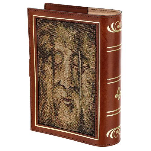 Couverture Néocatéchuménale cuir véritable Bible Jérusalem 2