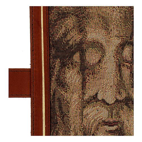 Couverture Néocatéchuménale cuir véritable Bible Jérusalem 5