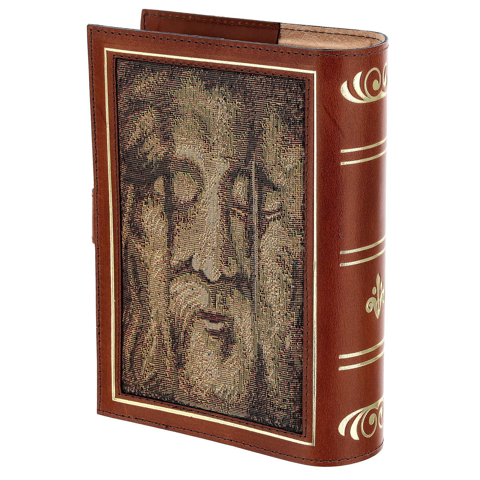Custodia Neocatecumenale vera pelle Bibbia Gerusalemme 4