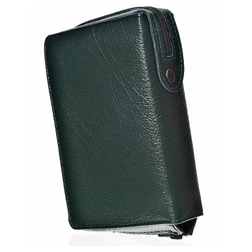Funda Sagrada Biblia CEE Ed. popular verde Pantocrátor simil cue 2