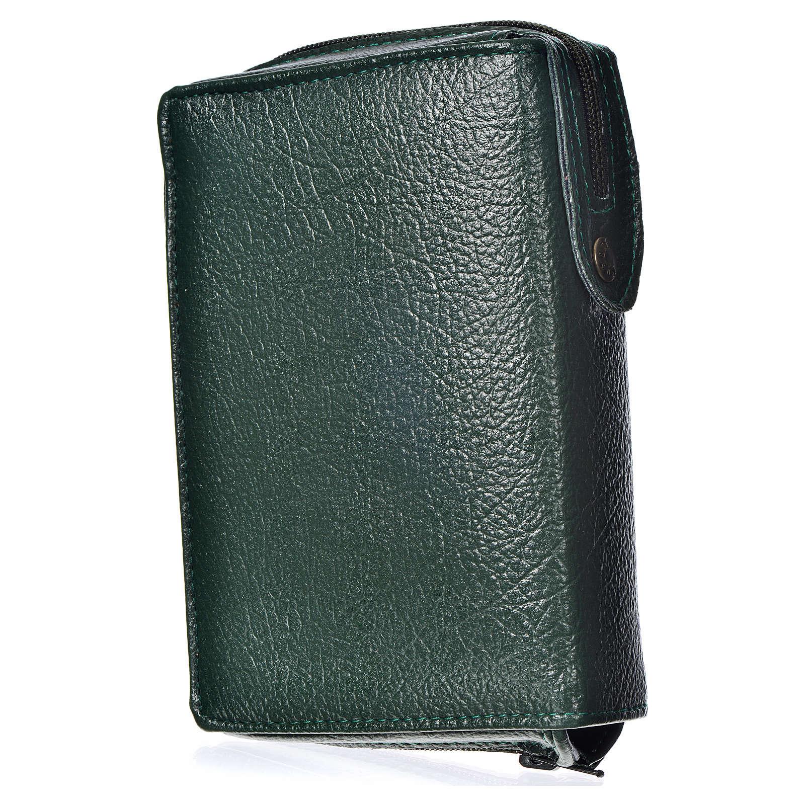 Funda Sagrada Biblia CEE Ed. popular verde Divina Misericordia 4