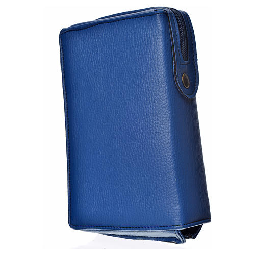 Funda Sagrada Biblia CEE Ed. popular azul Virgen de Kiko 2
