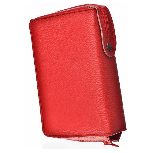 Funda Sagrada Biblia CEE ED. Pop. roja simil cuero Pantocrátor 2
