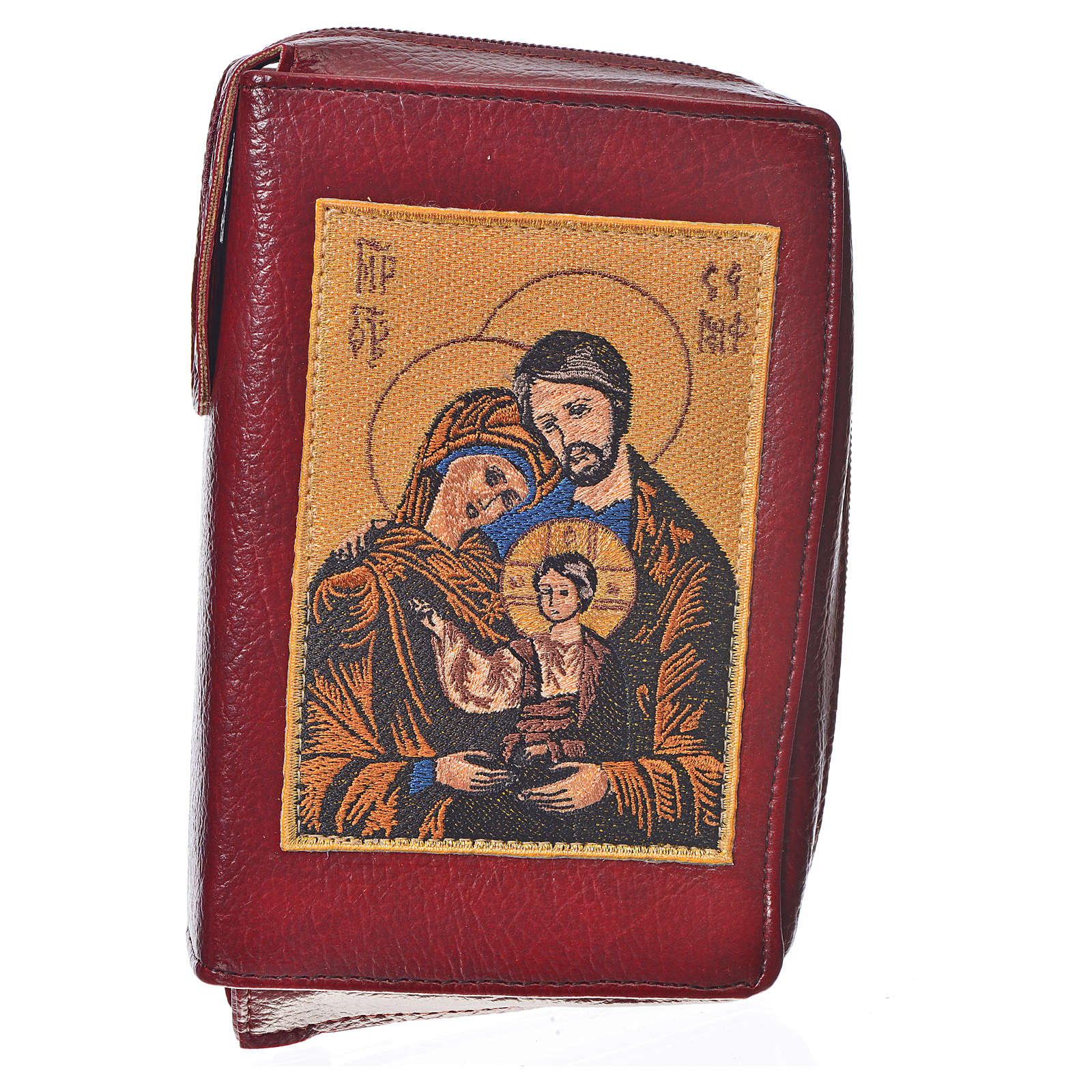 Funda Sagrada Biblia CEE ED. Pop. burdeos simil cuero Sagrada F. 4