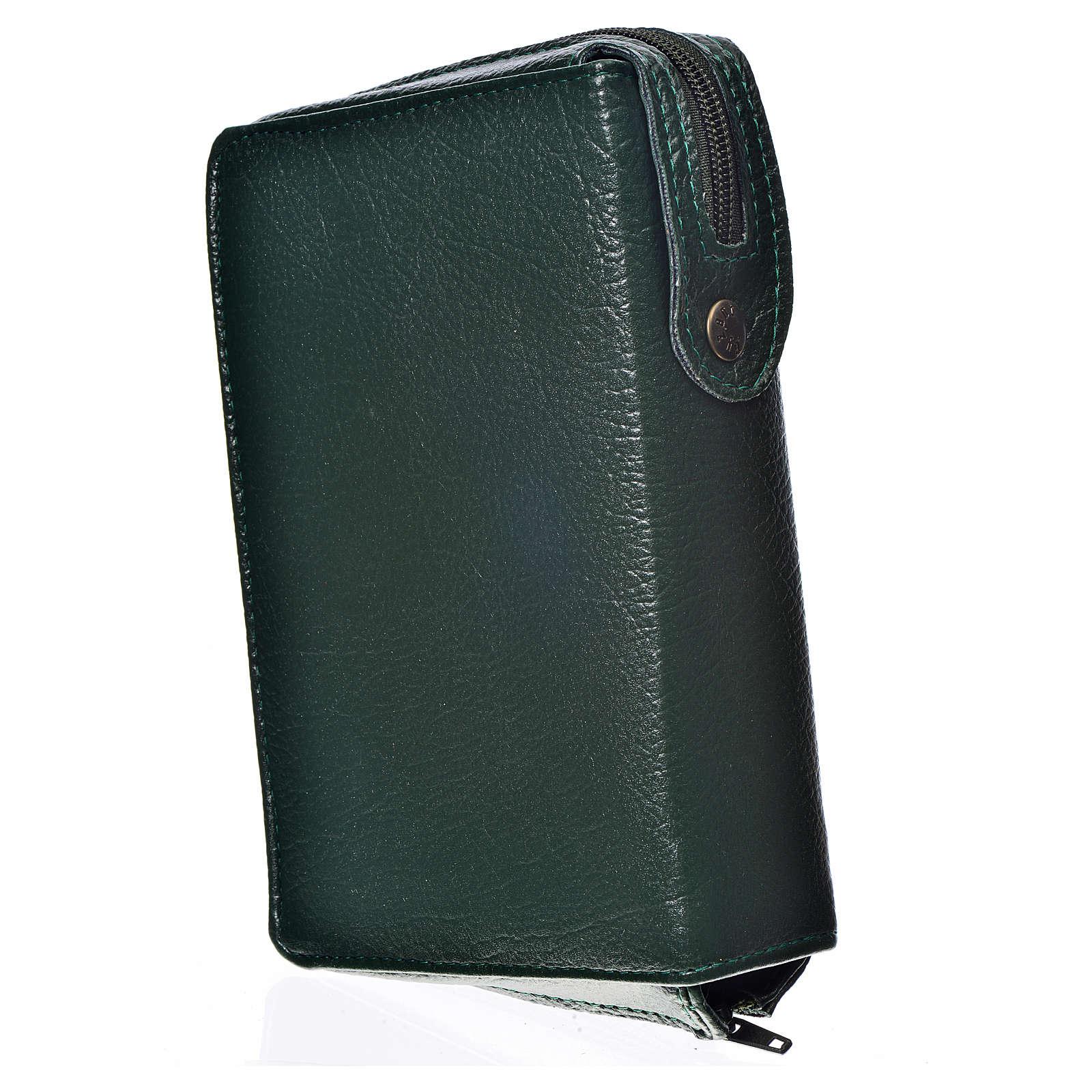 Funda Sagrada Biblia CEE ED. Pop. verde simil cuero Pantocrator 4