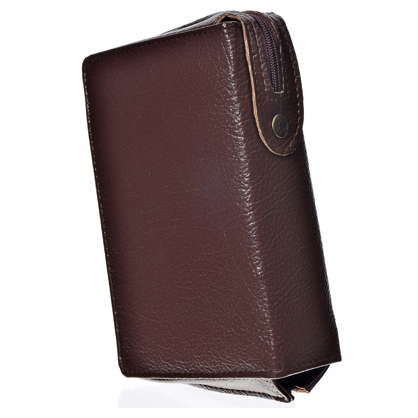 Funda Sagrada Biblia CEE ED. Pop. marrón oscuro simil cuero Pant 4