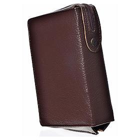 Funda Sagrada Biblia CEE ED. Pop. marrón oscuro simil cuero Pant s2