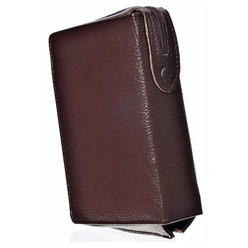 Funda Sagrada Biblia CEE ED. Pop. marrón oscuro simil cuero Pant 2