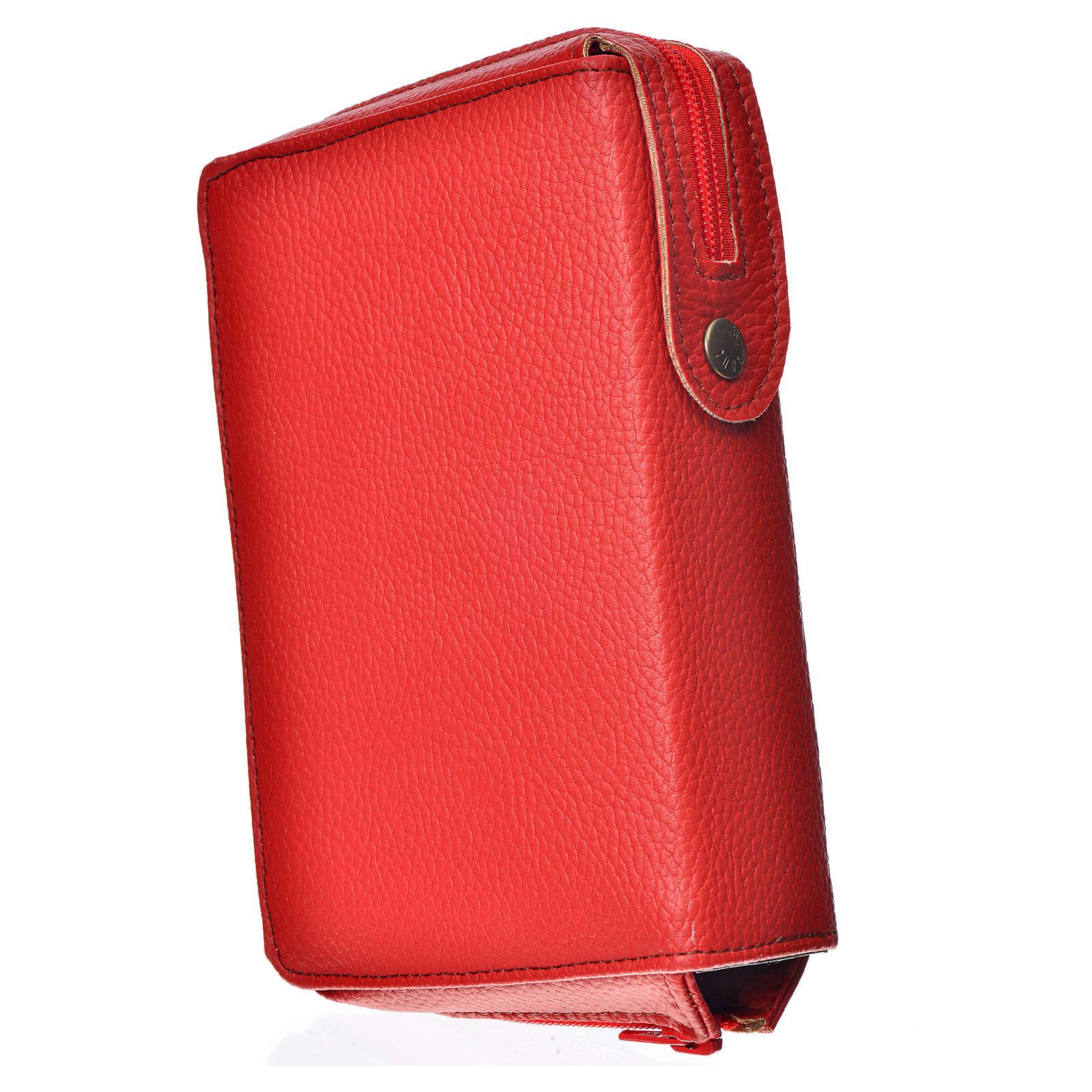 Funda Sagrada Biblia CEE ED. Pop. rojo simil c. Sagrada Familia 4