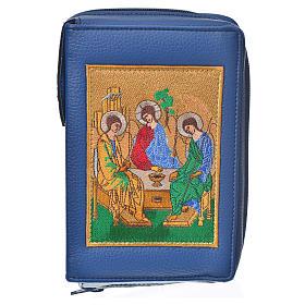 Funda Sagrada Biblia CEE ED. Pop. azul simil c. Santísima Trinid s1