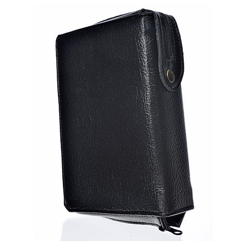 Funda Sagrada Biblia CEE ED. Pop. negra simil cuero 2